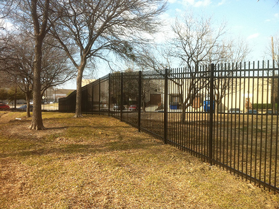 Universal Fence Co Ornamental Iron Fencing